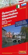 Österreich / Oberitalien / Slowenien 1 : 600 000