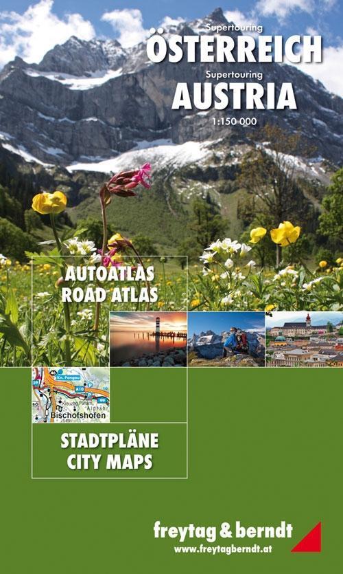 Österreich Supertouring Autoatlas 1 : 150 000 als Buch