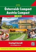 Österreich Compact Autoatlas 1 : 200 000