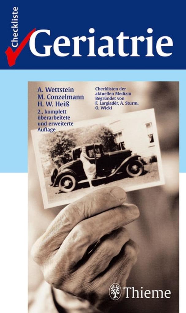 Checkliste Geriatrie als eBook Download von