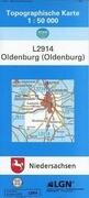 Oldenburg (Oldenburg) 1 : 50 000. (TK 2914/N)