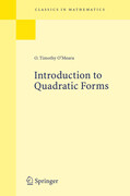 Introduction to Quadratic Forms