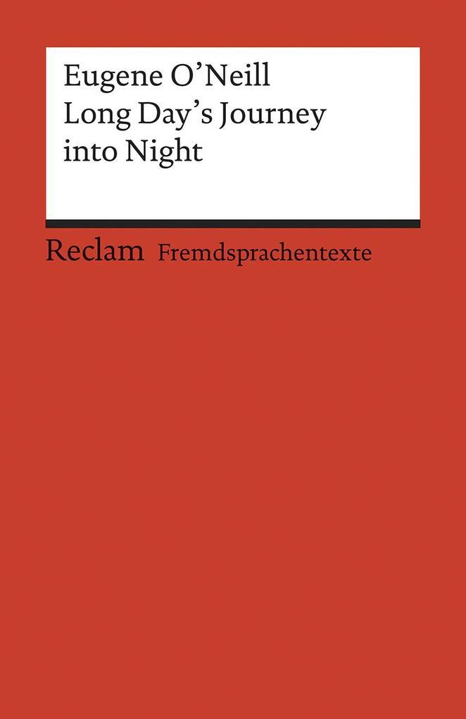 Long Day's Journey into Night als Taschenbuch