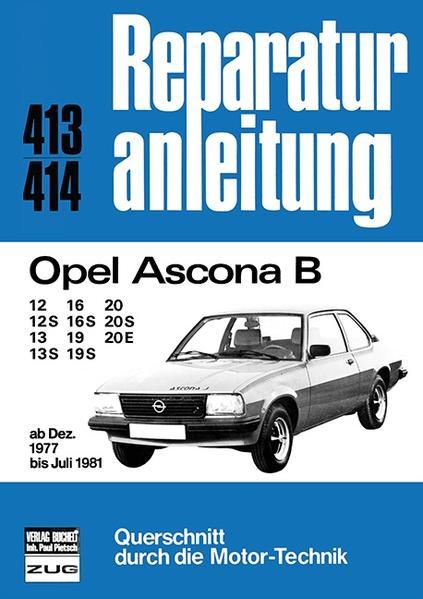 Opel Ascona B, ab Dezember 1977 bis Juli 1981 als Buch