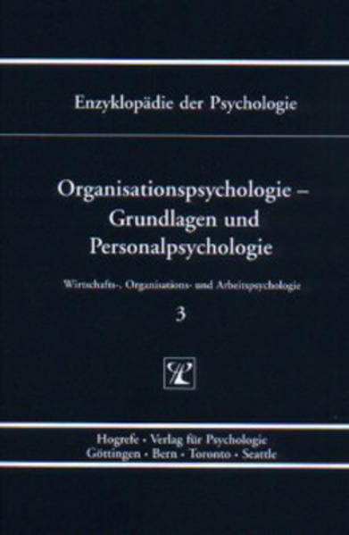 Organisationspsychologie - Grundlagen und Personalpsychologie als Buch