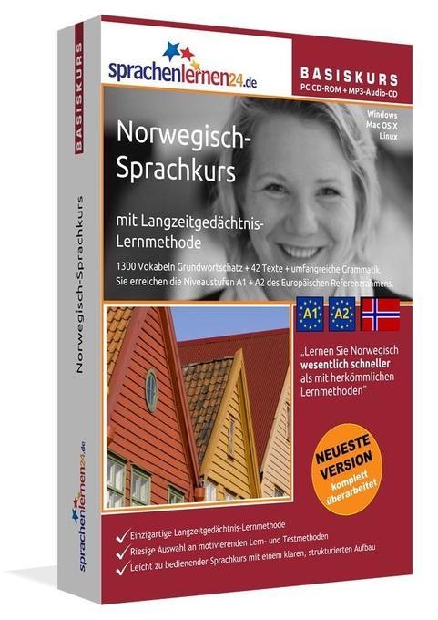 Sprachenlernen24.de Norwegisch-Basis-Sprachkurs...