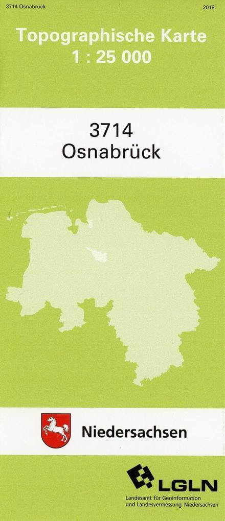 Osnabrück 1 : 25 000 als Buch