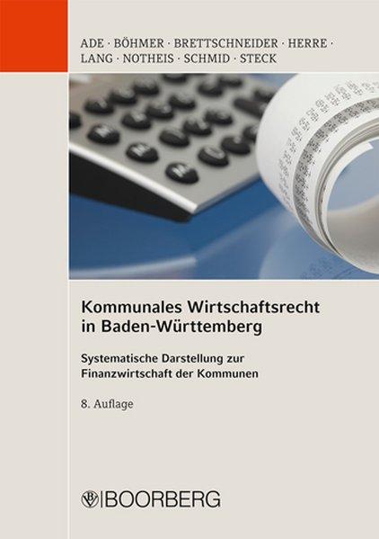 Kommunales Wirtschaftsrecht in Baden Württember...