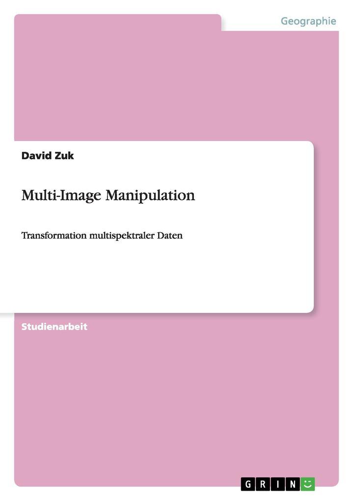 Multi-Image Manipulation als Buch von David Zuk