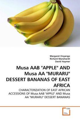 Musa AAB APPLE AND Musa AA MURARU DESSERT BANAN...