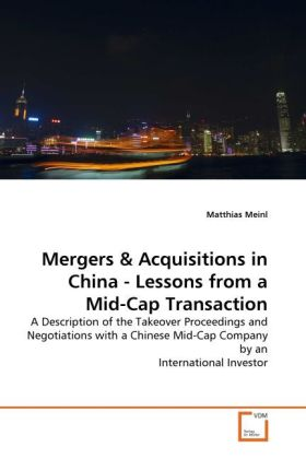 Mergers & Acquisitions in China - Lessons from ...