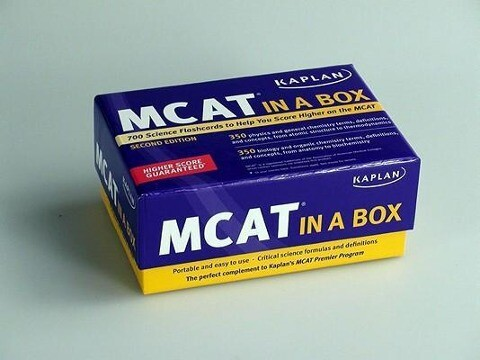 Kaplan MCAT in a Box Flashcards als Buch