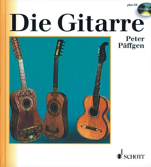 Die Gitarre als Buch von Peter Päffgen
