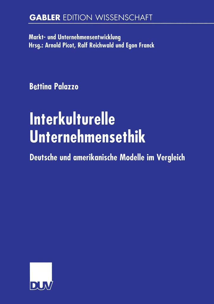 Interkulturelle Unternehmensethik als Buch von ...