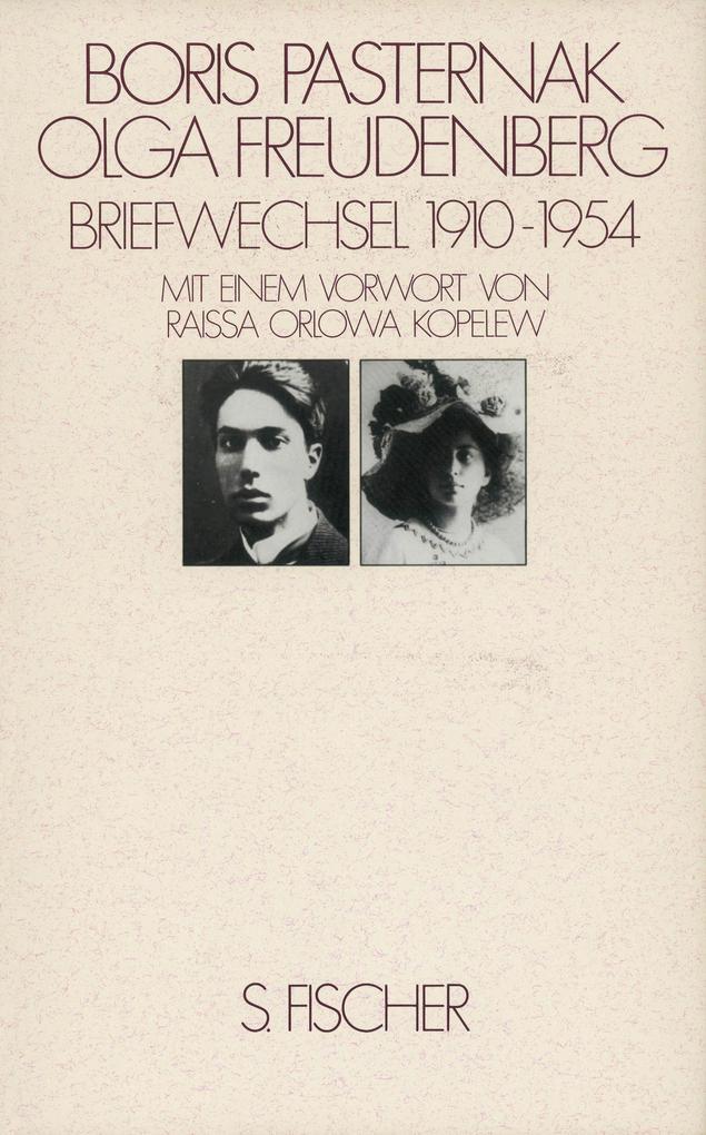 Briefwechsel 1910 - 1954 Pasternak / Freudenberg als Buch