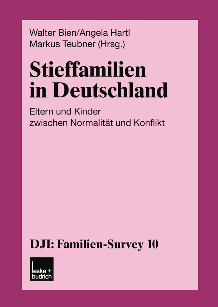 Stieffamilien in Deutschland als Buch
