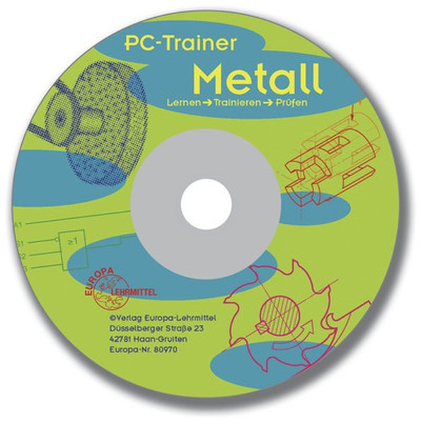 PC-Trainer Metall. CD-ROM für Windows 3.X/95/98/NT als Software