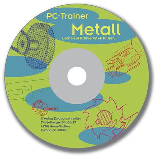 PC-Trainer Metall. CD-ROM für Windows 3.X/95/98/NT als Software