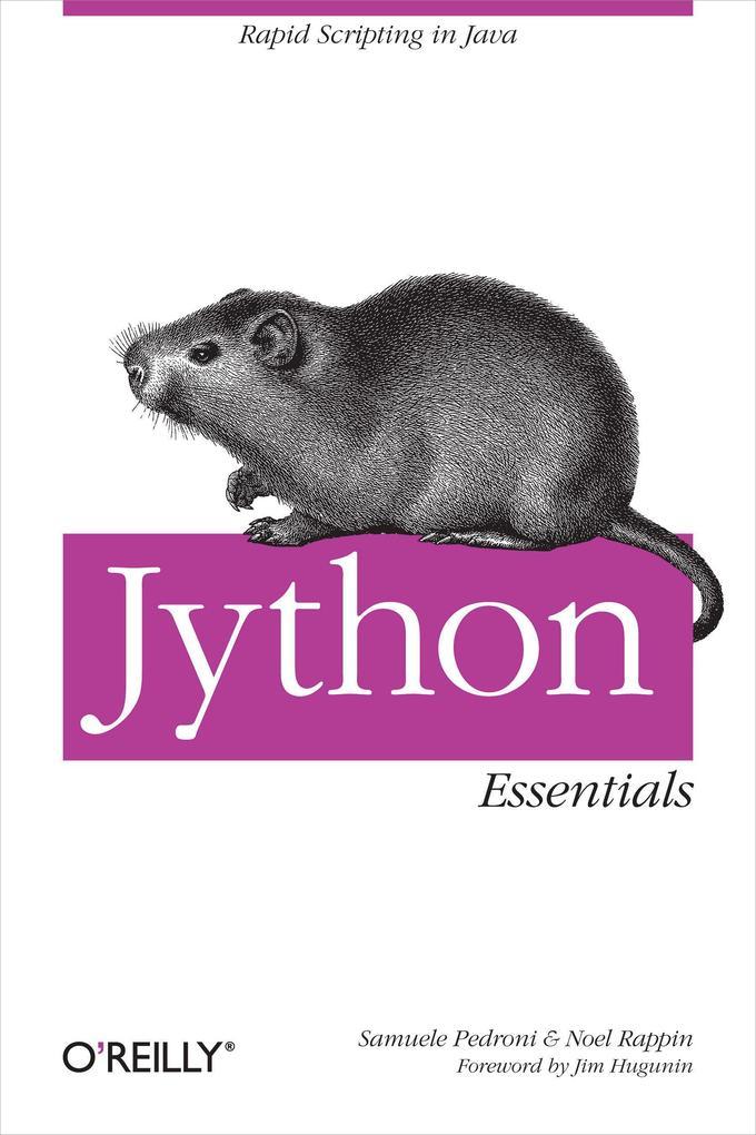 Jython Essentials als Buch