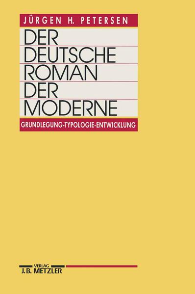 Der deutsche Roman der Moderne als Buch
