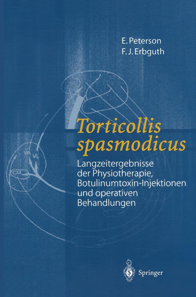 Torticollis spasmodicus als Buch