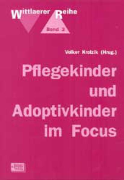 Pflegekinder und Adoptivkinder im Focus als Buch