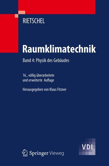 Raumklimatechnik als Buch