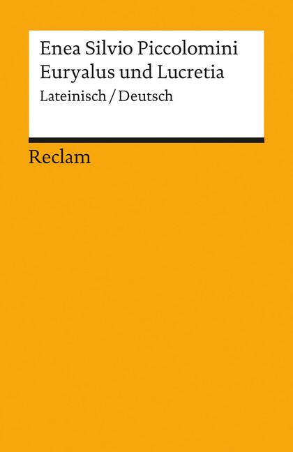 Euryalus und Lucretia als Taschenbuch