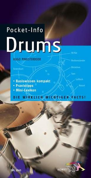 Pocket-Info Drums als Buch
