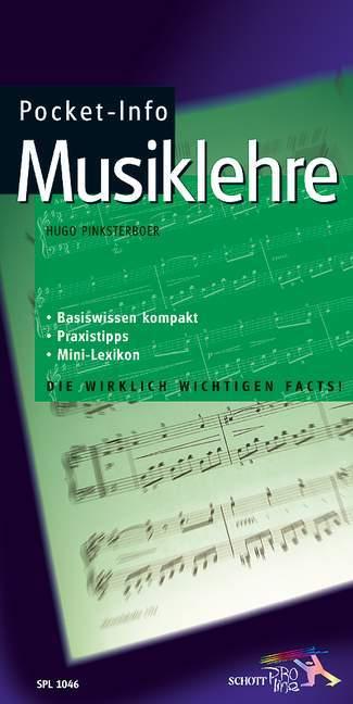 Pocket-Info Musiklehre als Buch