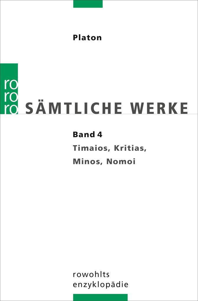 Sämtliche Werke 04 als Taschenbuch