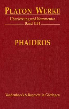 Werke III/4. Phaidros als Buch (gebunden)