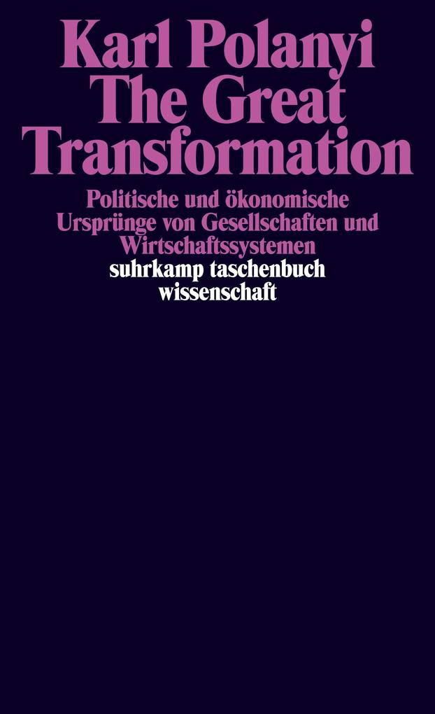 The Great Transformation als Taschenbuch