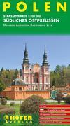 Höfer Polen PL010. Südliches Ostpreußen 1 : 200 000. Straßenkarte