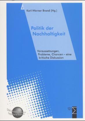 Politik der Nachhaltigkeit als Buch