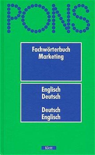 PONS Fachwörterbuch Marketing als Buch