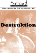 Pop und Destruktion