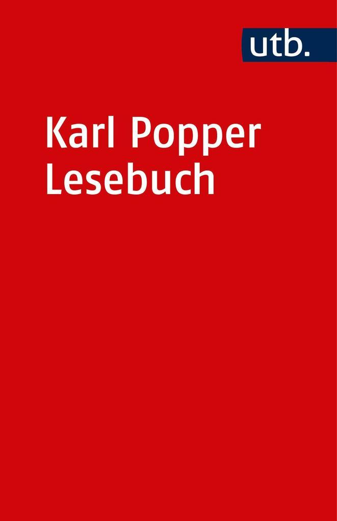 Karl Popper Lesebuch als Taschenbuch