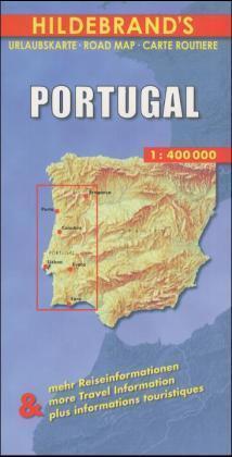 Portugal 1 : 400 000. Hildebrand's Urlaubskarte als Buch