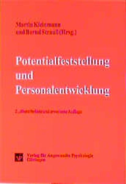 Potentialfeststellung und Personalentwicklung als Buch