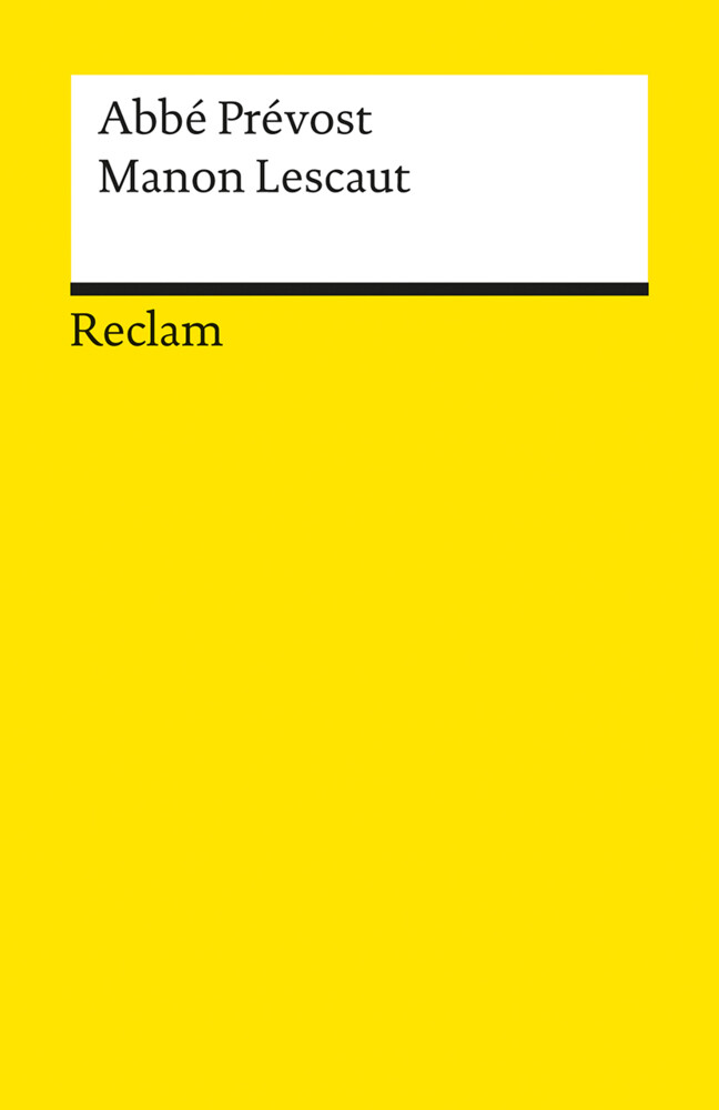 Geschichte des Chevalier des Grieux und der Manon Lescaut als Taschenbuch