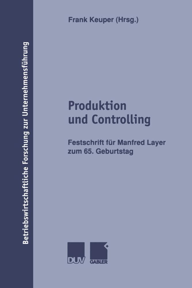 Produktion und Controlling als Buch