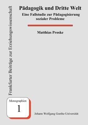 Pädagogik und Dritte Welt als Buch