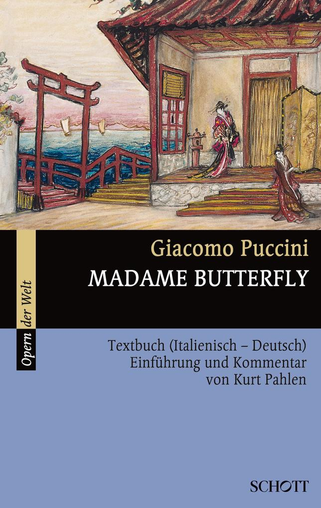 Madame Butterfly als Buch