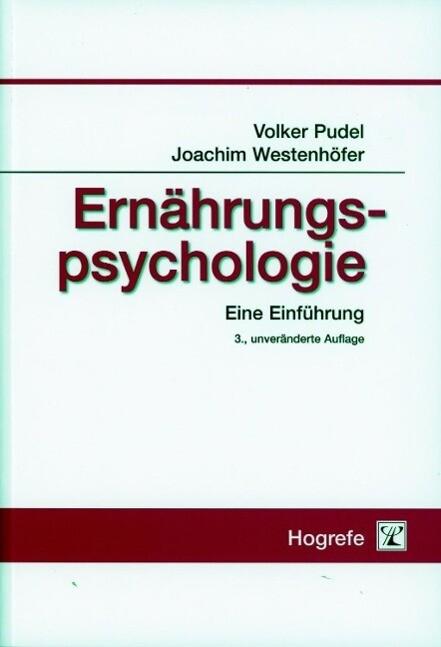 Ernährungspsychologie als Buch