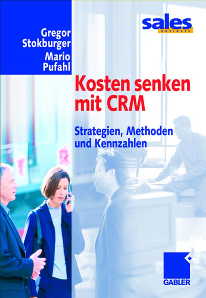 Kosten senken mit CRM als Buch