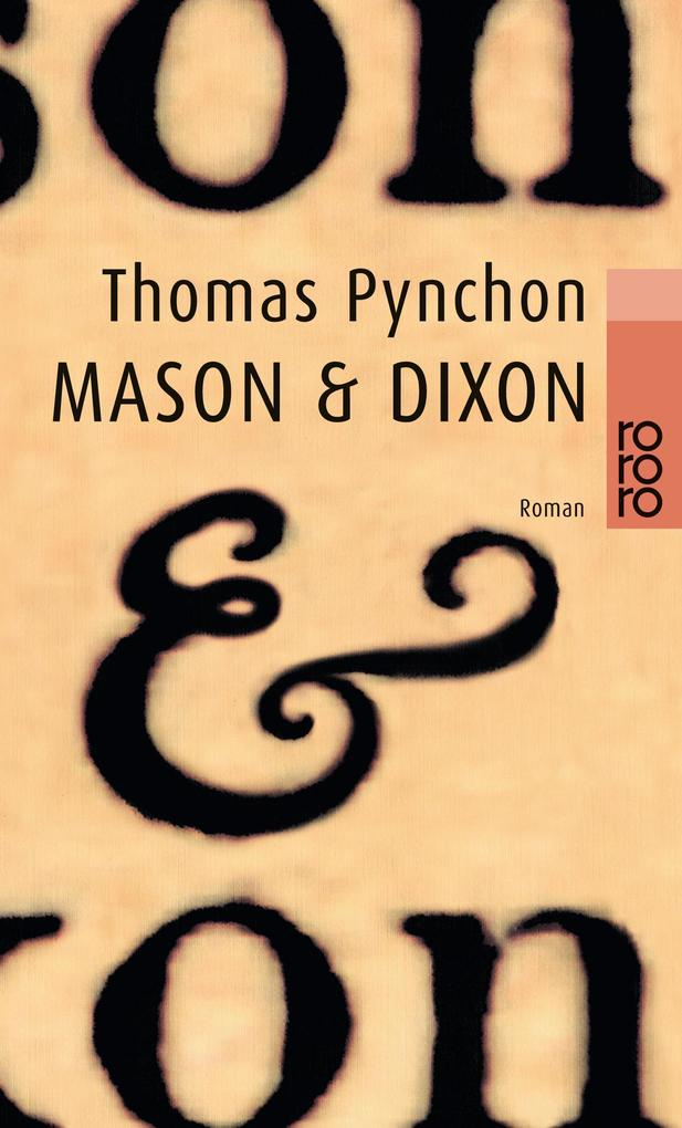 Mason und Dixon als Taschenbuch