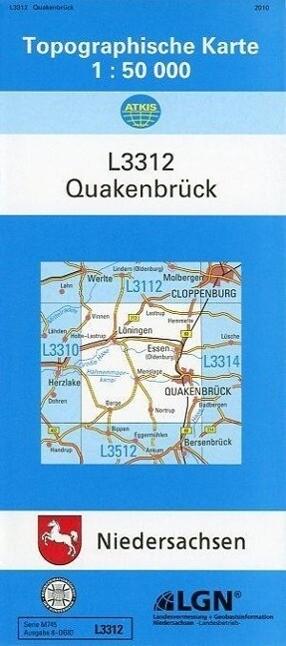Quakenbrück 1 : 50 000 als Buch