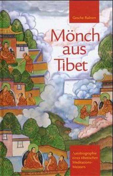 Mönch aus Tibet als Buch (gebunden)