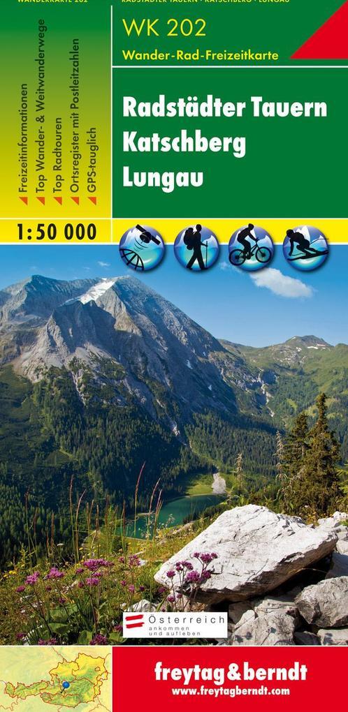 Radstädter Tauern. Katschberg. Lungau 1 : 50 000. WK 202 als Buch